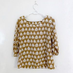 Old Navy Boat print top